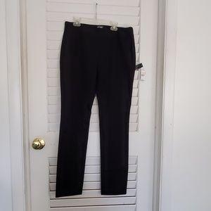 Lord N Taylor Kate classic pants black 6